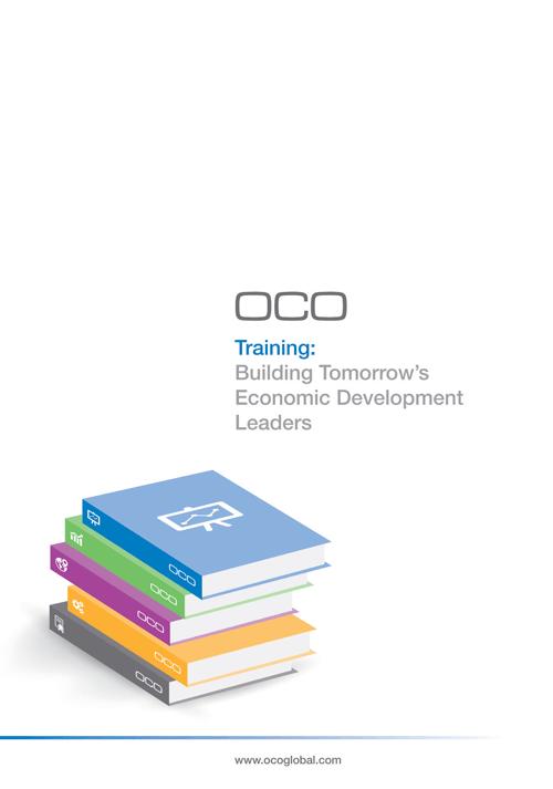 OCO, Training, Building Tomorrow's Economic Development Leaders