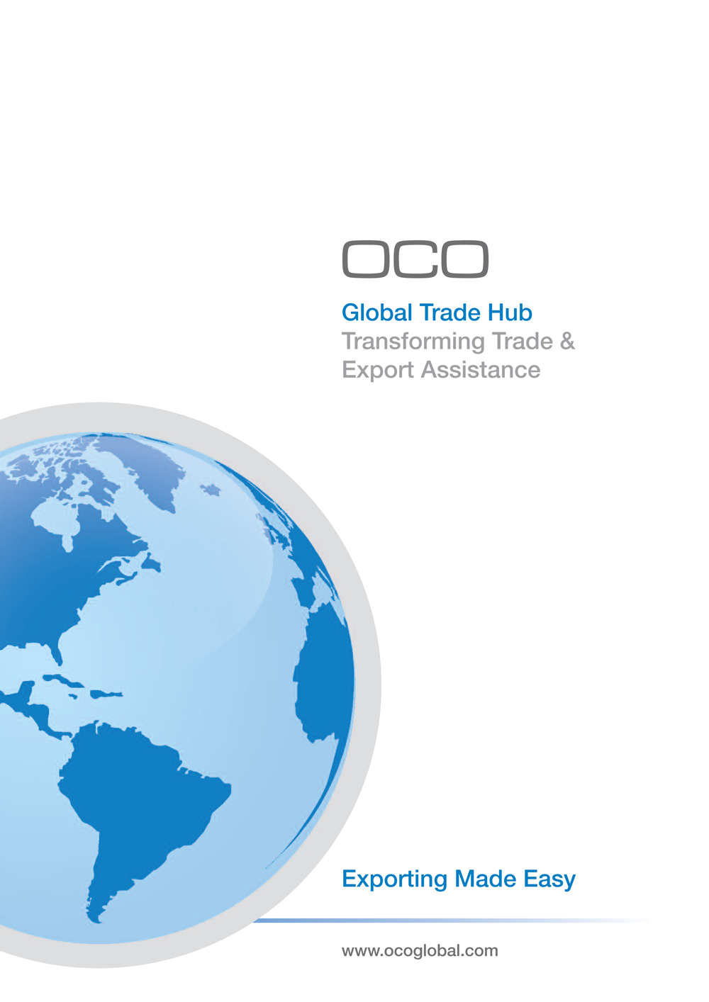 OCO, Global Trade Hub, Transforming Trade and Export Assistance