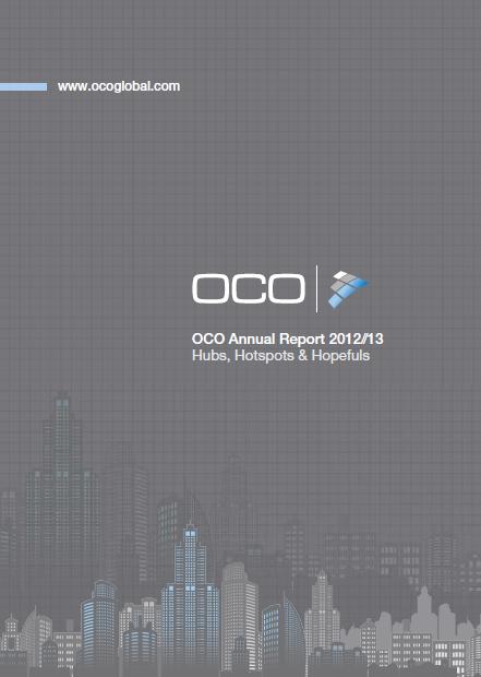 OCO Annual Report 2012/13, Hubs, Hotspots & Hopefuls