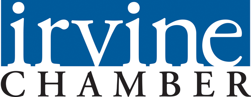 Irvine Chamber Logo. OCO Global, leading authority in Foreign Investment