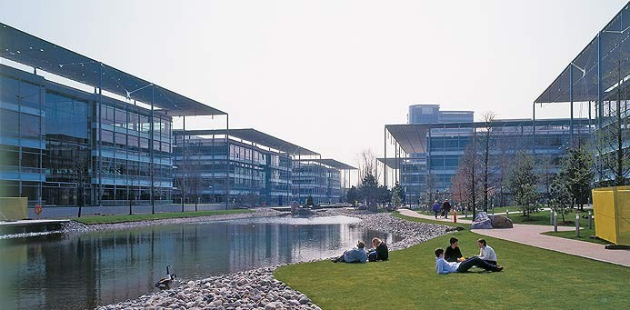 Modern Office Business Park
