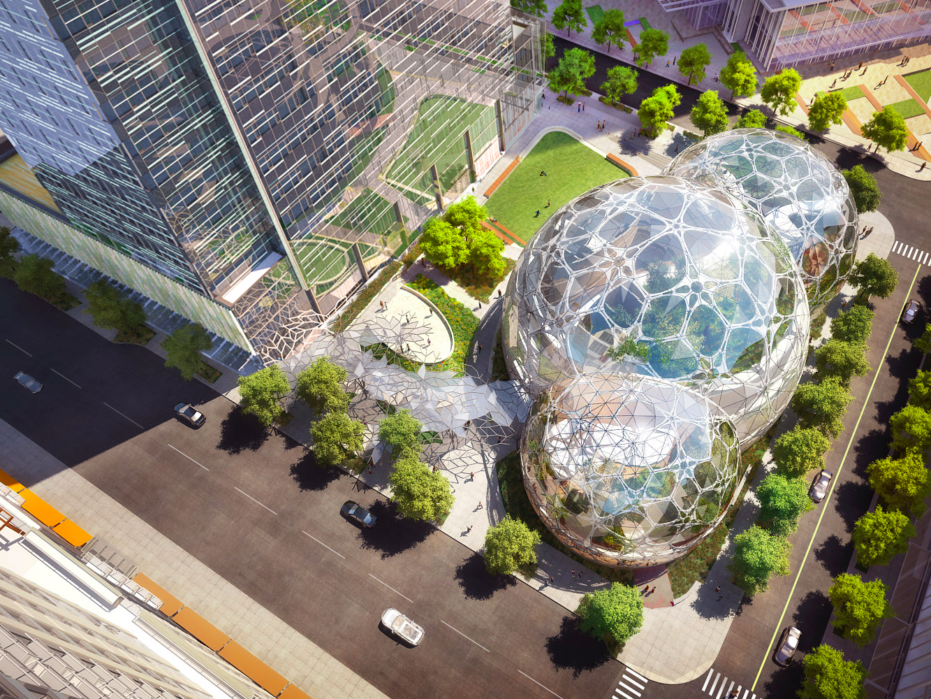Amazon Headquarters, Seattle
