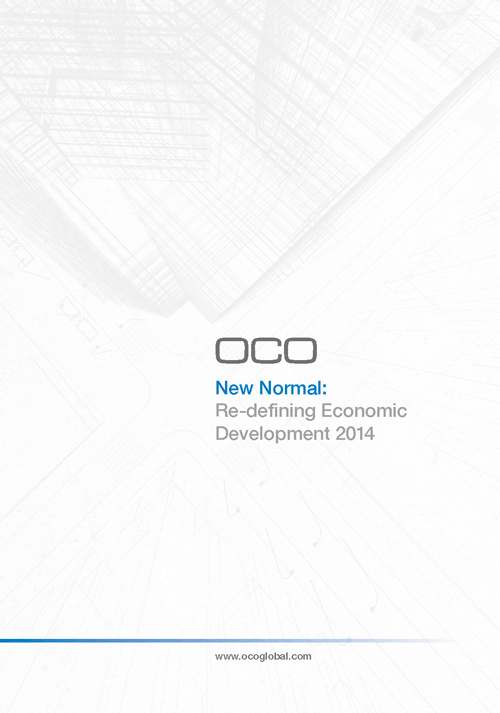 OCO New Normal, Re-defining Economic Development 2014